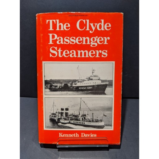 The Clyde Passenge Steamers Book by Davies, Kenneth
