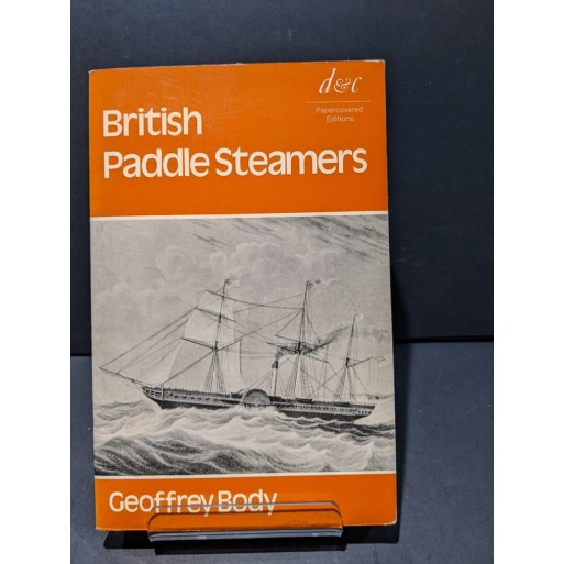 British Paddle Steamers Book by Body, Geoffrey