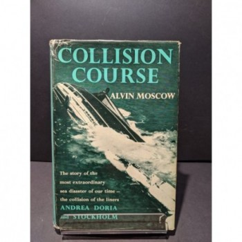 Collision Course Book by Moscow, Alvin
