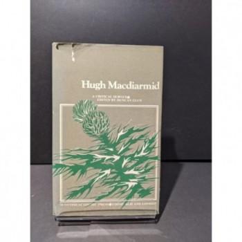 Hugh MacDiarmid: A Critical Survey Book by Glen, Duncan (ed)