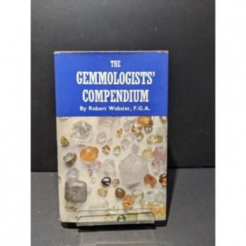 The Gemmologists' Compendium Book by Webster, Robert