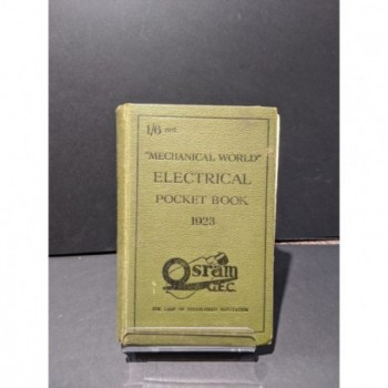 Mechanical World Electrical Pocket Book 1923 Book by Unknown