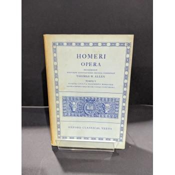 Homeri Opera Tomus V