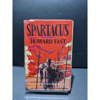 Spartacus Book by Fast, Howard