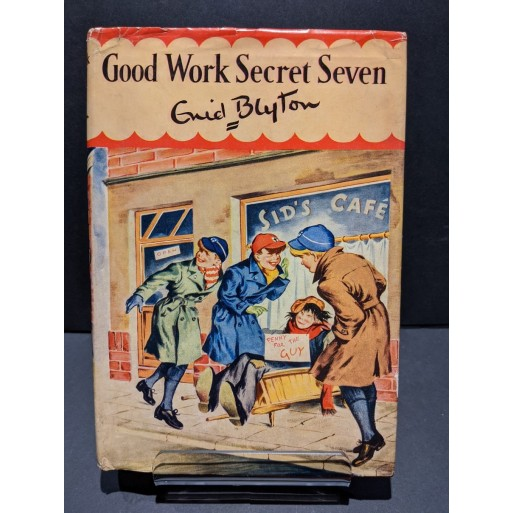 Good Work Secret Seven Book by Blyton, Enid