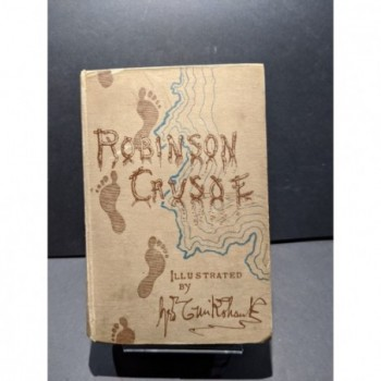 Robinson Crusoe Book by Defoe, Daniel