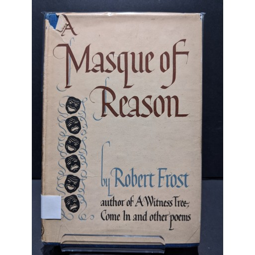 A Masque of Reason Book by Frost, Robert