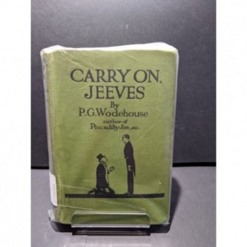 Carry on Jeeves Book by Wodehouse, P. G.