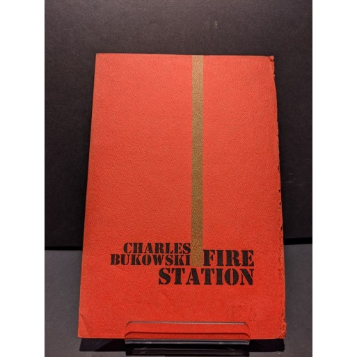 Fire Station Book by Bukowski, Charles