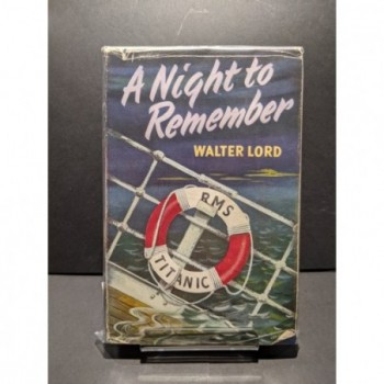 A Night to Remember Book by Lord, Walter
