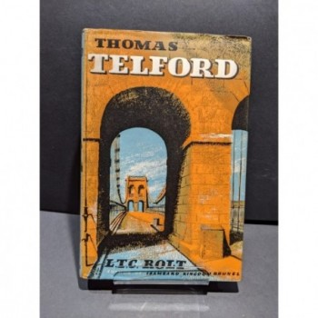 Thomas Telford Book by Rolt, L T C
