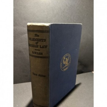 The Elements of Roman Law Book by Lee, R W