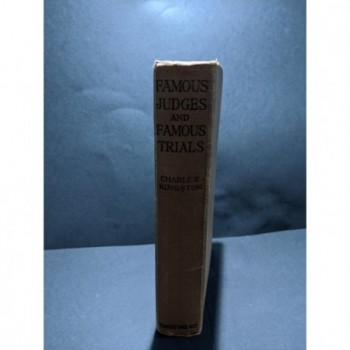 Famous Judges and Famous Trials Book by Kingston, Charles