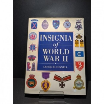 Insignia of World War II Book by McDonnell, Leslie