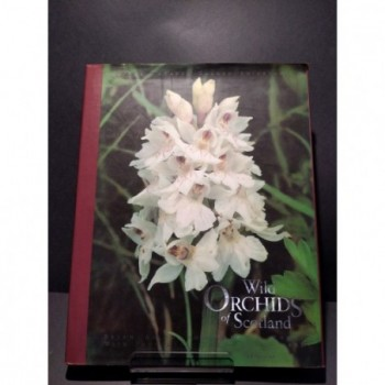 Wild Orchids of Scotland Book by Allan & Woods