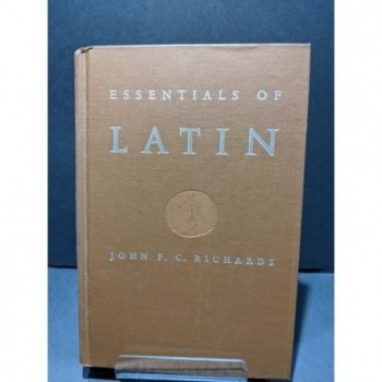 Essentials of Latin Book by Richards, John F C