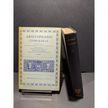 Aristophanis Comoediae Tomus I and II Book by Hall & Geldhart
