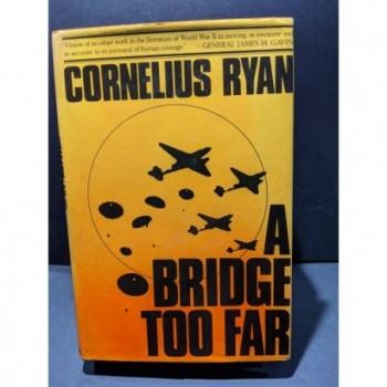 A Bridge Too Far Book by Ryan, Cornelius