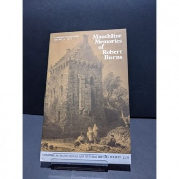 Mauchline Memories of Robert Burns Book
