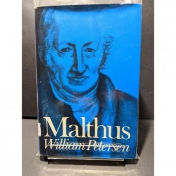 Malthus Book by Petersen, Willia,m