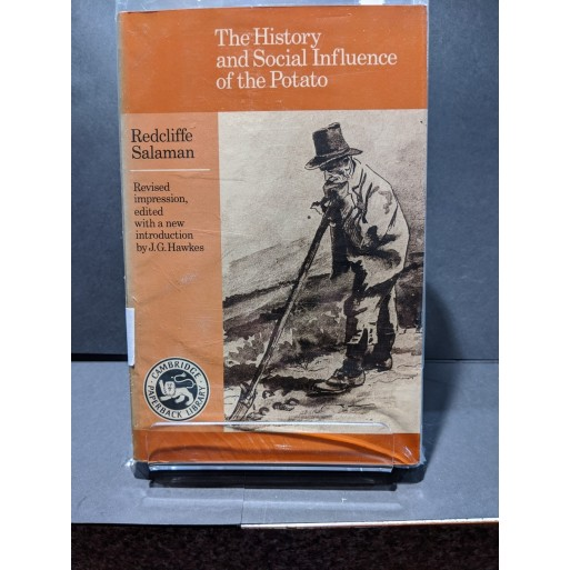 The History and Social Influence of the Potato Book by Salaman, Radcliffe