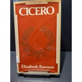 Cicero Book by Rawson, Elizabeth