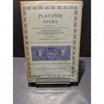 Platonis: Opera Tomus I Book