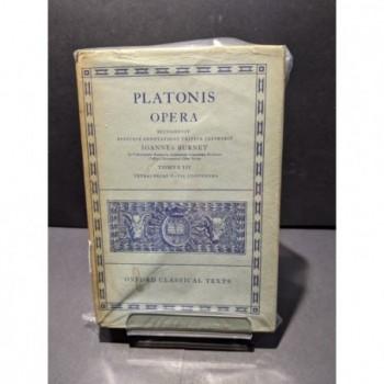Platonis: Opera Tomus III Book