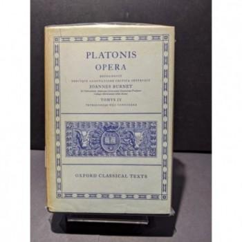 Platonis: Opera Tomus IV Book