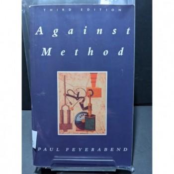 Against Method Book by Feyerabend, Paul