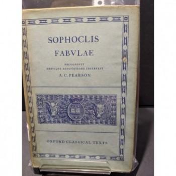 Sophoclis: Fabulae Book