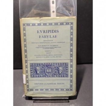 Euripidis: Fabulae  Tomus I Book