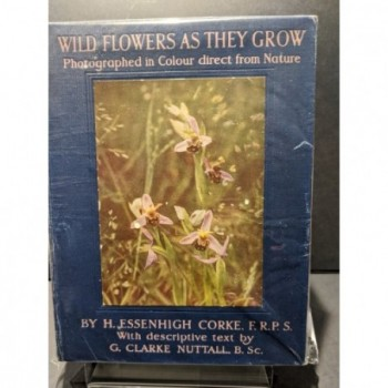 Wild Flowers as They Grow Book by Corke & Nuttall