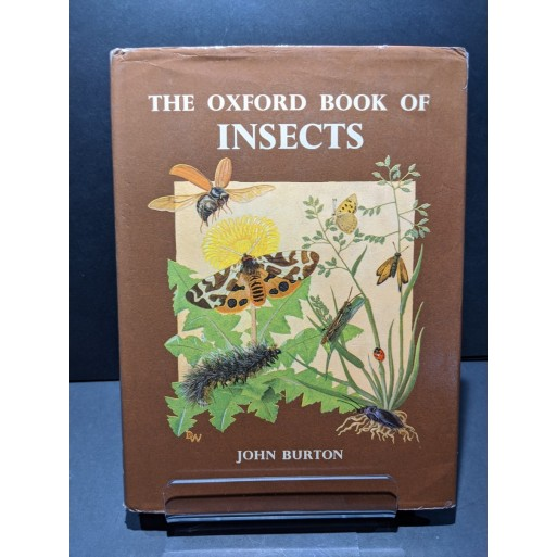 The Oxford Book of Insects Book by Burton, John
