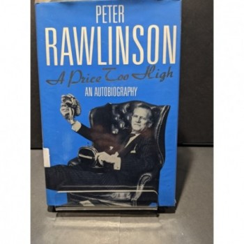 A Price Too High Book by Rawlinson, Peter