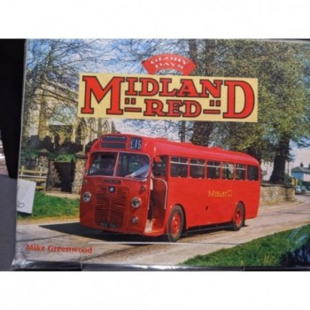 Midland Red Book by Greenwood, Mike