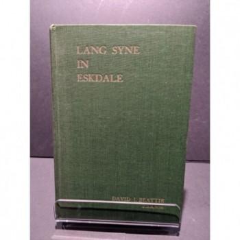 Lang Syne in Eskdale Book by Beattie, David J